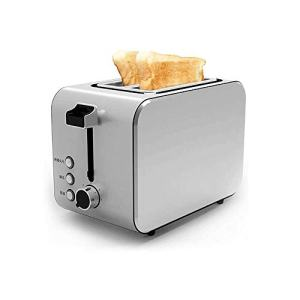 Z-COLOR Toaster 2 Slice, 2 Slice Toaster with 7 Toasting Settings and Removable Crumb Tray, Extra Stainless Steel Wide Slot - 750W