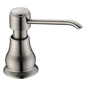 Soap Dispenser,Brass Pump Head Soap Dispenser Brushed Nickel Delle Rosa Kitchen Sink Soap Dispenser Soap or Lotion Pump Dispenser