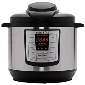 Instant Pot Lux 6-in-1 Electric Pressure Cooker, Slow Cooker, Rice Cooker, Steamer, Saute, and Warmer, 6 Quart, 12 One-Touch Programs