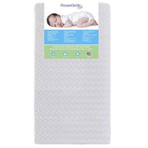 Dream On Me, Orthopedic Firm Foam Standard Crib Mattress, White