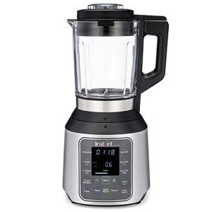 Instant Ace Nova Blender, 56 oz Glass Pitcher, Hot & Cold Settings, Smoothie, Crushed Ice, Nut Butter, Almond Milk, Purée, and Soup, 10 Adjustable Speeds