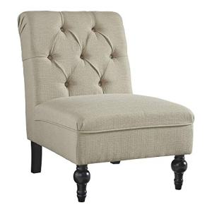 Signature Design by Ashley - Degas Accent Chair - Traditional - Oatmeal
