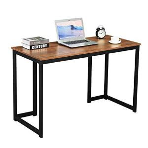 GreenForest Computer Desk 47'' Writing Study Desk Modern Simple Style Laptop Table for Home Office Workstation, Walnut
