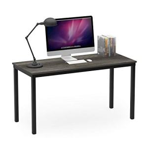 """Teraves Computer Desk/Dining Table Office Desk Sturdy Writing Workstation for Home Office (47.24"""", Black Oak)"""