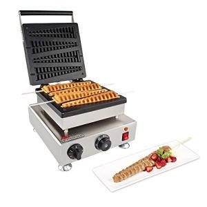 ALDKitchen Lolly Stick Waffle Maker | Stainless Steel Tree Waffle Maker | 110V | 1750W | 4 Pcs