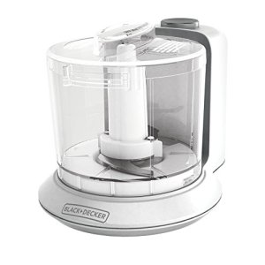 BLACK+DECKER HC306 1.5-Cup Electric Food Chopper, White