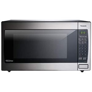 Panasonic Microwave Oven NN-SN966S Stainless Steel Countertop/Built-In with Inverter Technology and Genius Sensor, 2.2 Cubic Foot, 1250W