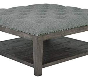 Signature Design by Ashley - Borlofield Ottoman Cocktail Table, Linen