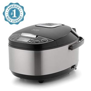 Aroma Housewares Professional (6 Cup uncooked rice resulting in 12 Cup Cooked rice), Rice Cooker, Food Steamer & Slow Cooker, Stainless Steel Exterior