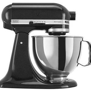 KitchenAid RRK150CV 5 Qt. Artisan Series Stand Mixer - Caviar (Renewed)
