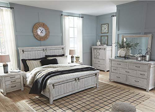 Signature Design by Ashley Brashland dressers, White Bundle Dimensions: 66.zero x 19.zero x 40.zero inches