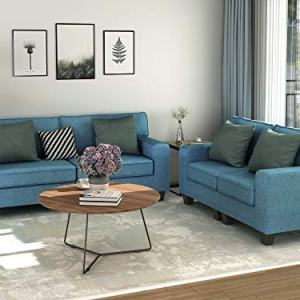 MERITINE Living Room Set of 2, 2 Pcs Morden Style Livingroom Furniture Set Couch Loveseat