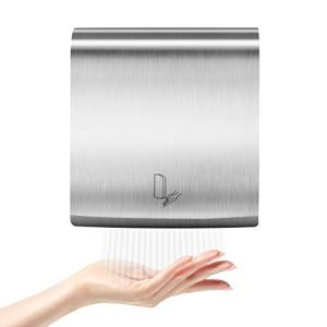 WBHome Ultra-Thin Electric Automatic Hand Dryer Commercial High Speed, Instant Heat & Dry for Bathroom Heavy Duty