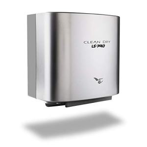 LS-PRO Automatic Hand Dryer for Commercial Bathrooms. High Speed Hot Air, Dry Hands in 7s. No Touch Operation with Infrared Sensor. Easy & Fast Installation. Low Noise 60 dB. 1 year warranty