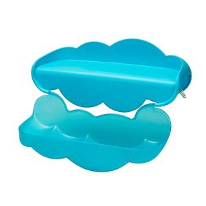 Boon Water Ledge Bath Toy for Kids, Blue