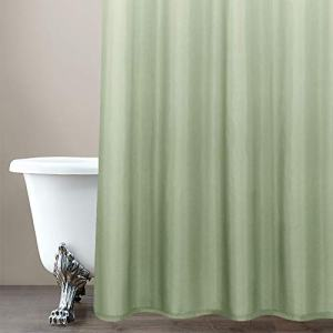 jinchan Ombre Shower Curtain Green for Bathroom Waterproof Gradual Color Design Fabric Shower Curtain Hooks Included with Rings 72 inch Long One Panel inches