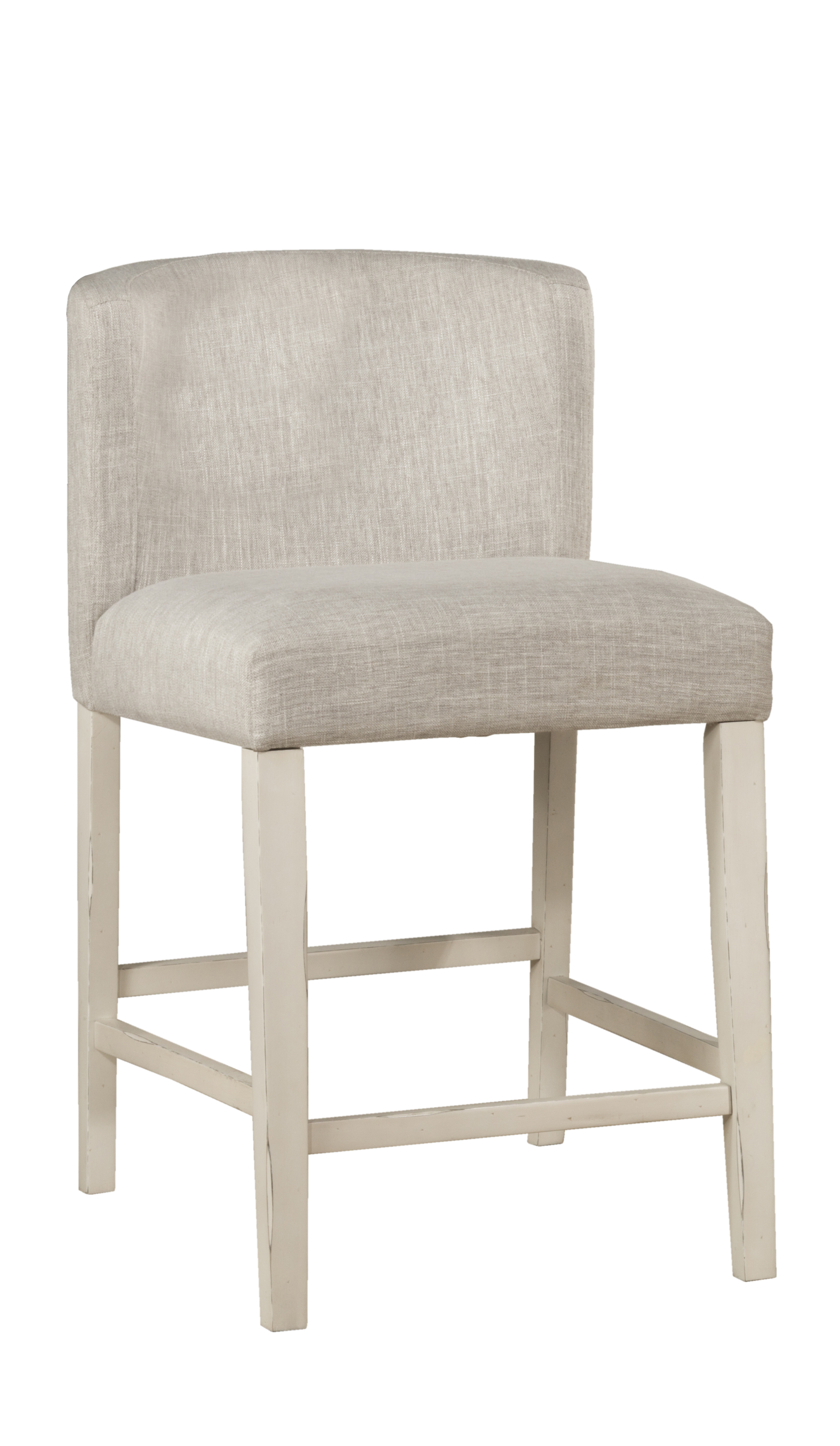 Counter Height Chairs With Arms Clarion Non Swivel Wing Arm Counter Height Stool Sea White Set