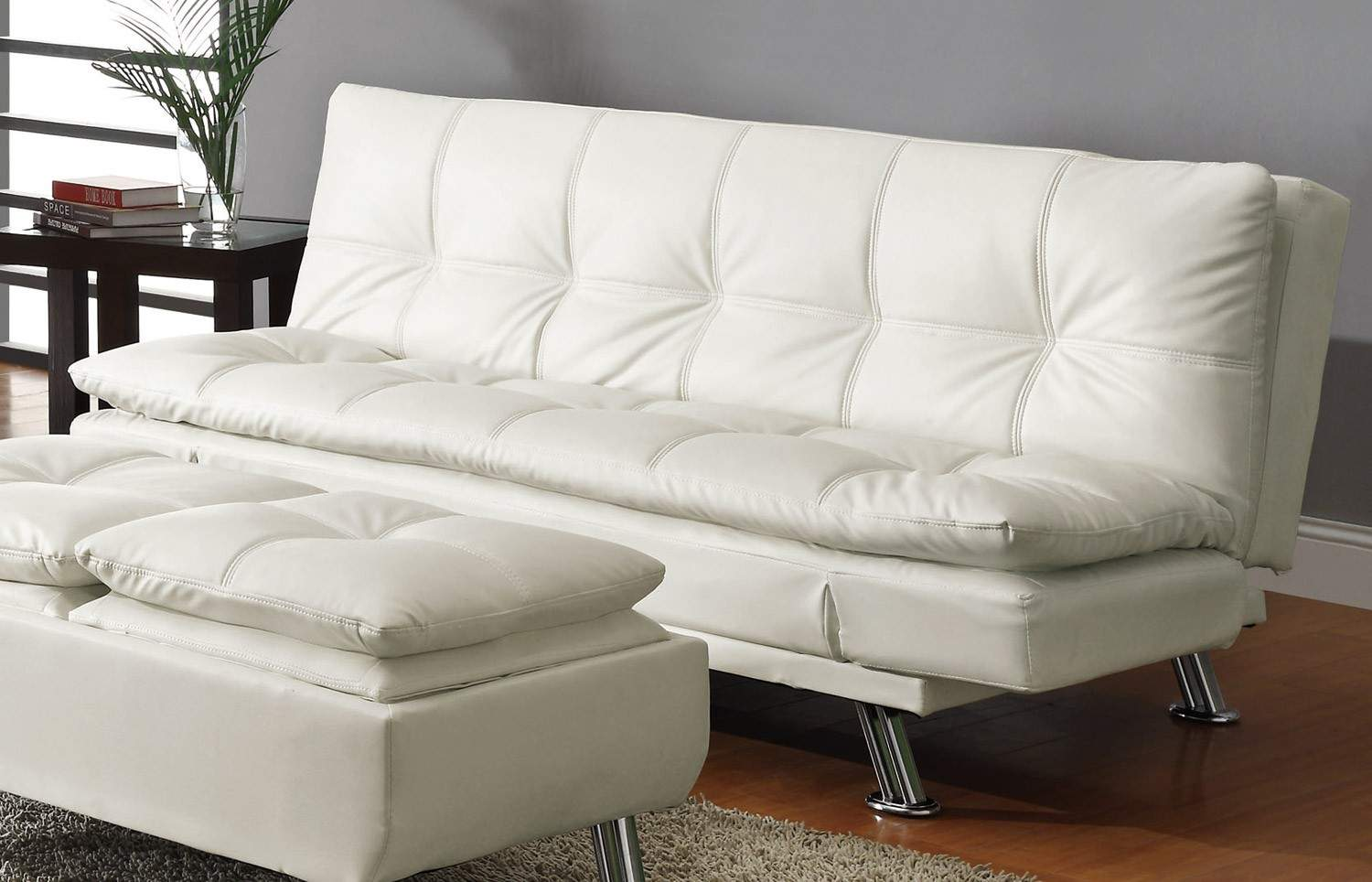 corner sofa with recliner and chaise power set deals beds contemporary styled futon sleeper ...