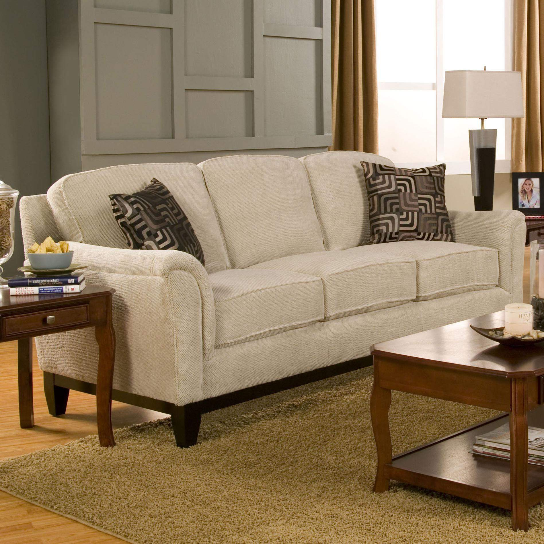 sofa wood frame exposed uk good quality bed singapore carver with base furniture at