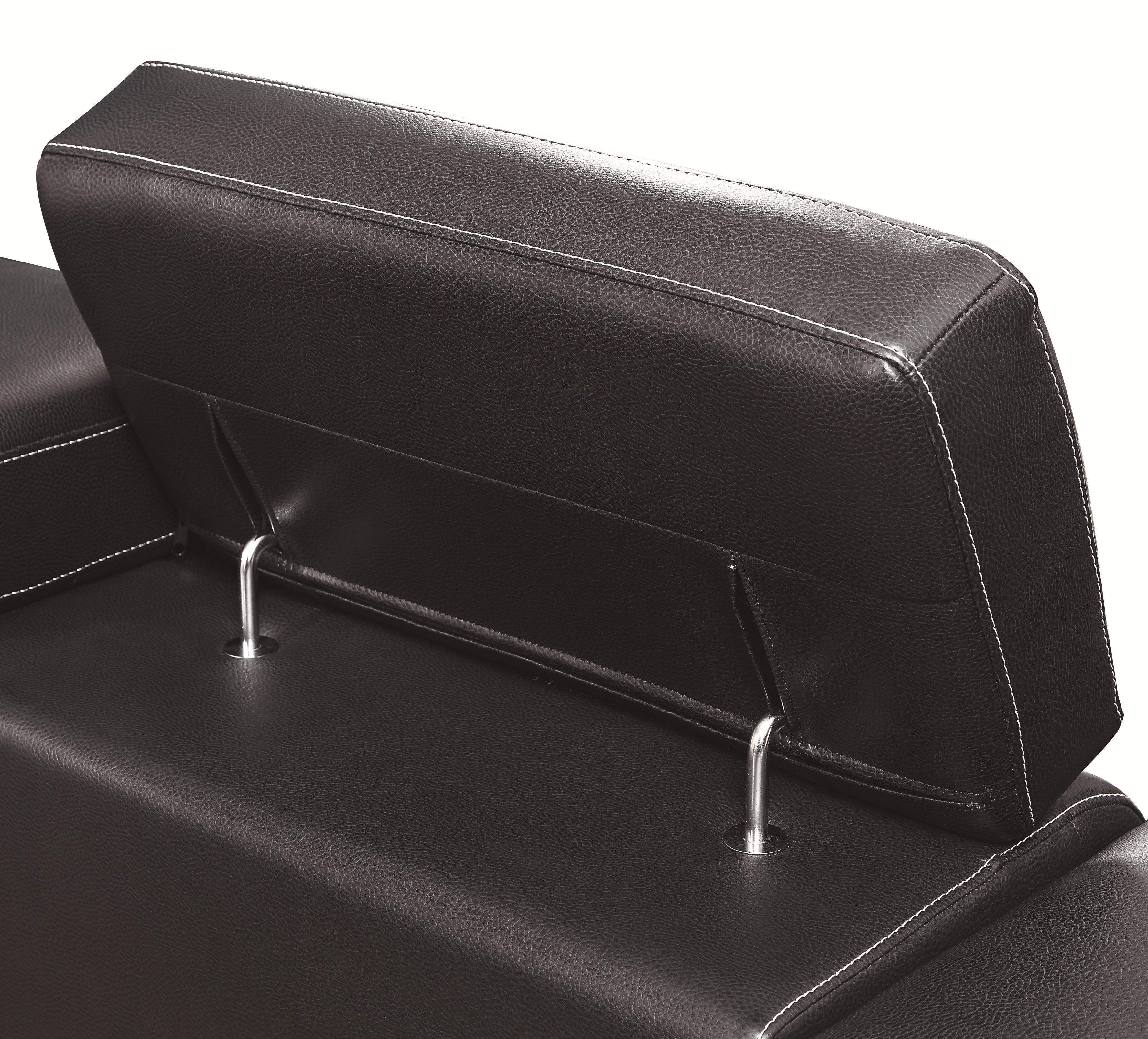corner sofa metal legs leather recliner slipcovers ralston contemporary sectional with and