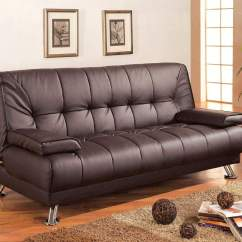 Sofa Sleeper On Clearance Petrol Beds Faux Leather Convertible Bed With Removable