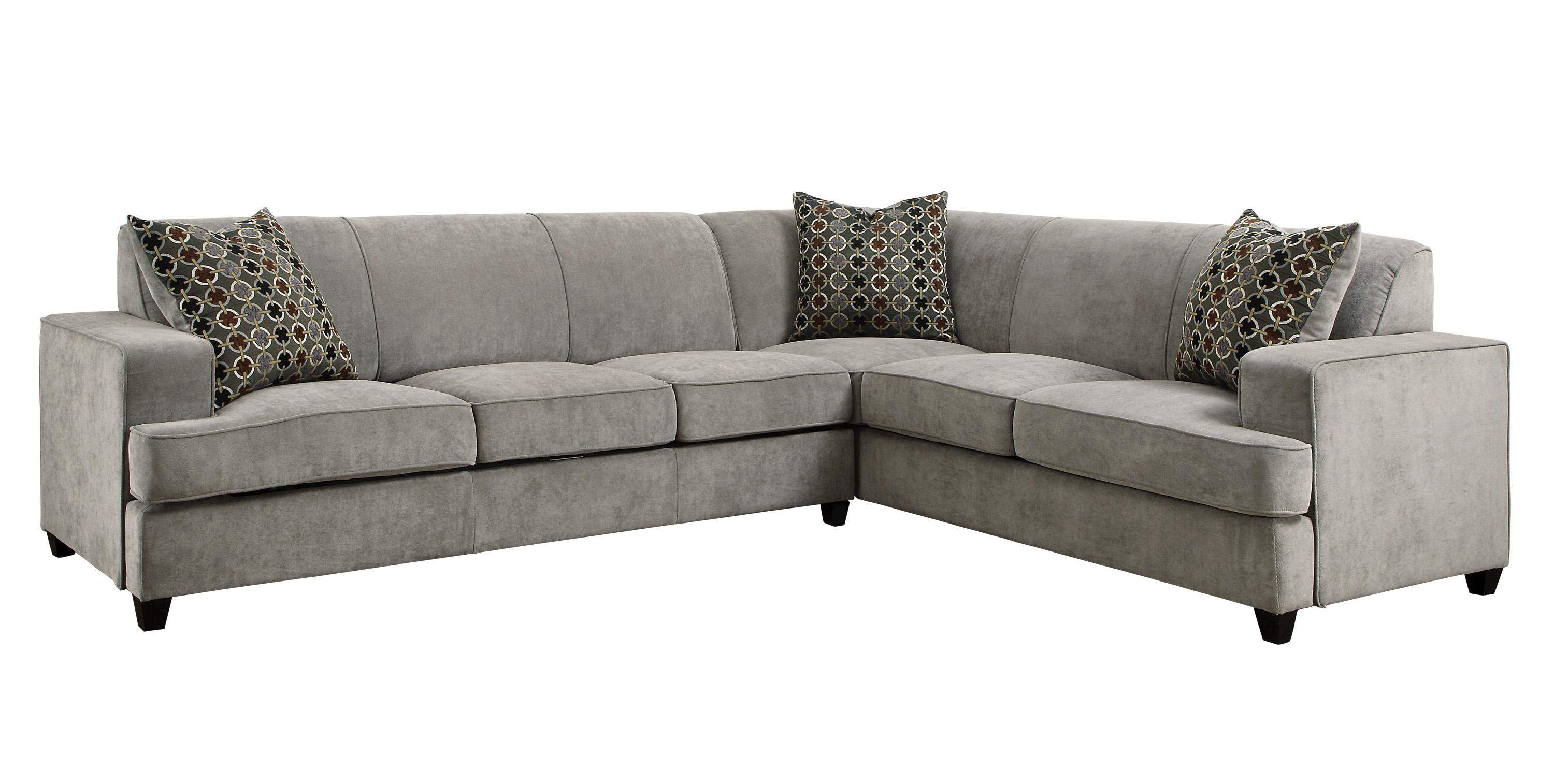 quality queen sleeper sofa lucia chaise and set tess casual grey fabric sectional for corners with