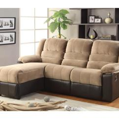 Chaise Recliner Sofa Grey Chair Sectional With Lounge And