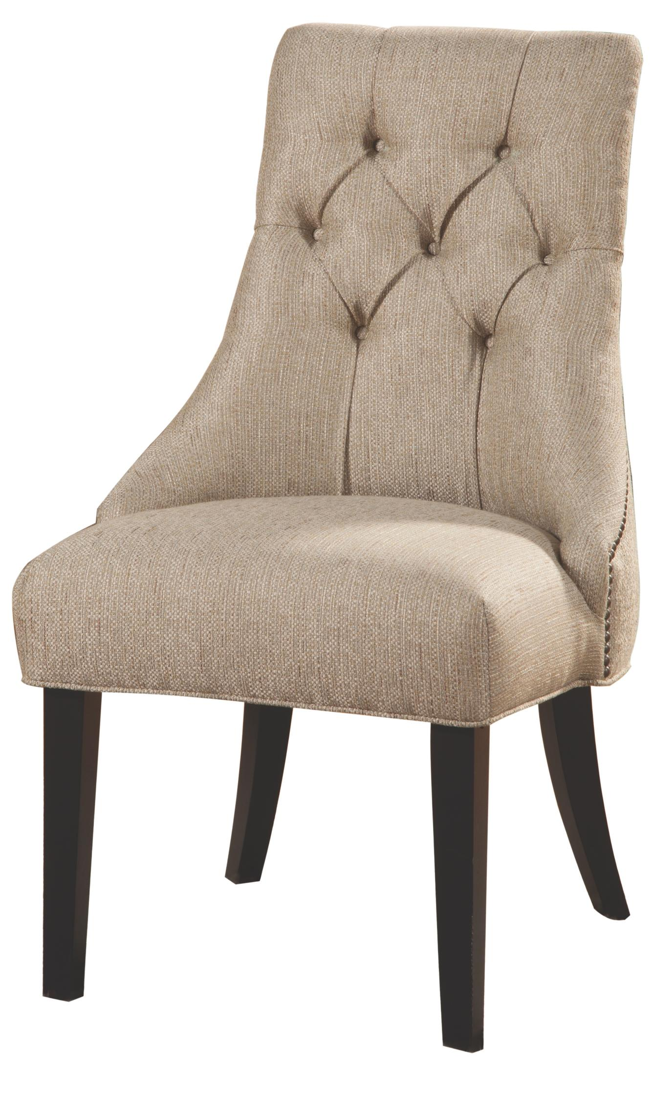 tufted side chair garden swing nz accent seating quality furniture at