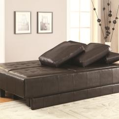 Chocolate Brown Leather Sectional Sofa With 2 Storage Ottomans Sofas Best Quality Ellesmere Contemporary Bed Group