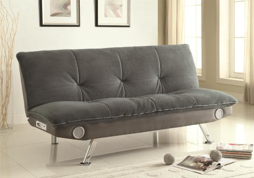 leatherette sofa sleeper sofas that come apart beds and futons bed with built-in bluetooth ...