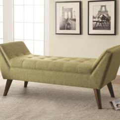 L Shaped Sofa For Office Chaise Sectional Bed Benches Mid-century Modern Upholstered Accent Bench ...