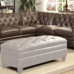 Tufted Leather Sofa With Rolled Arms 10 Foot Long Roy Brown Traditional Sectional