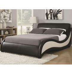 Affordable Modern Living Room Sets Schewels Furniture King Niguel Contemporary Platform Upholstered Bed ...