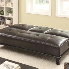 Black Vinyl Futon Sofa Buy Cheap Beds And Futons  Contemporary Bed
