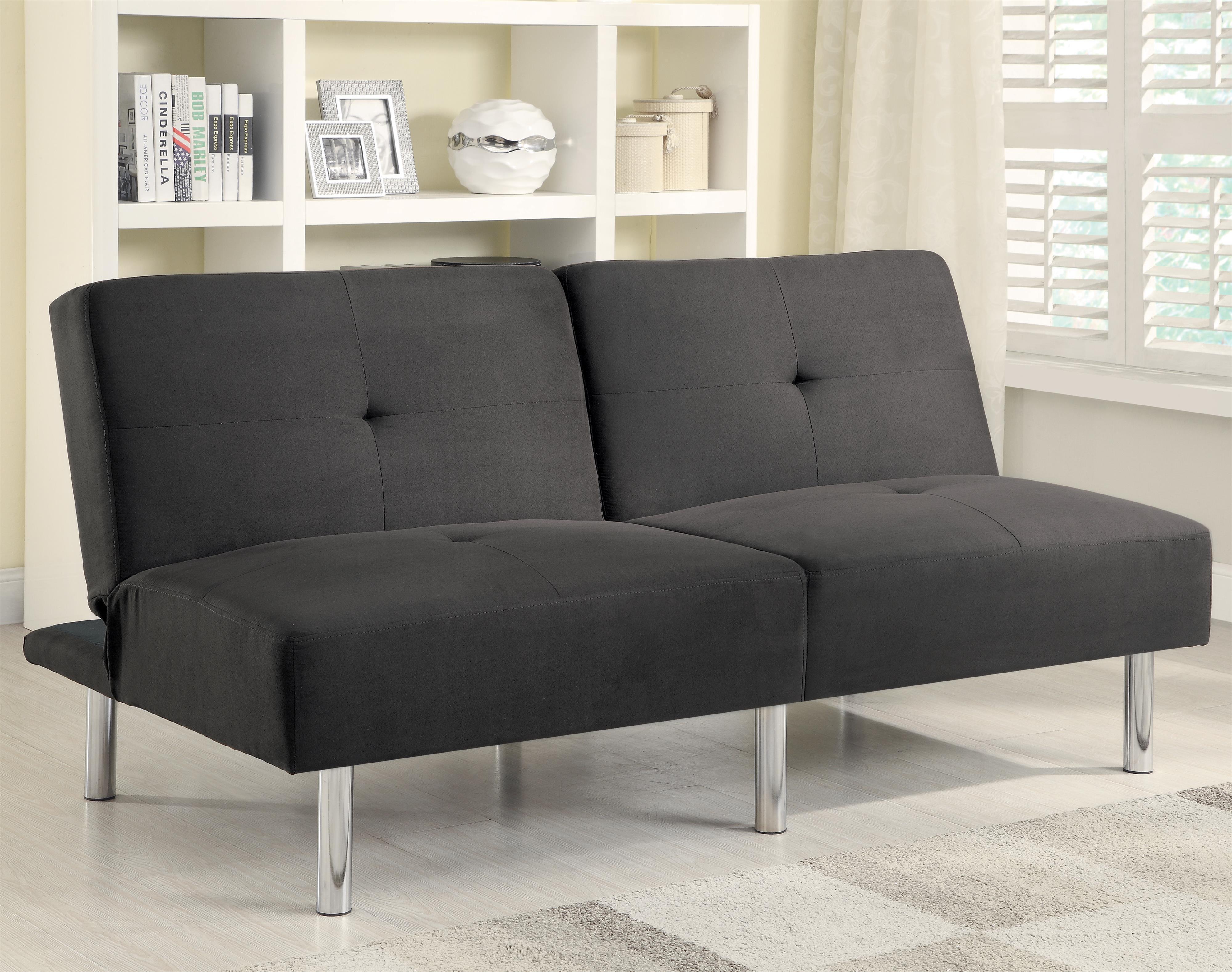 Sofa Beds and Futons  Contemporary Microfiber Sofa Bed