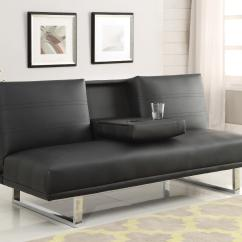 Contemporary Sofa Bed Images Of Beds And Futons  With Chrome