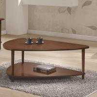 70405 Contemporary Coffee Table with Bottom Shelf ...