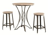 Bar Units and Bar Tables 3-Piece Counter Height Table Set ...