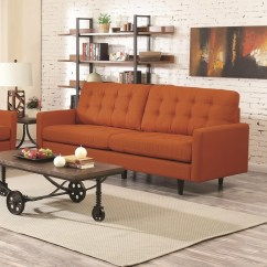 Century Furniture Sofa Quality Steel Kesson Mid Modern At