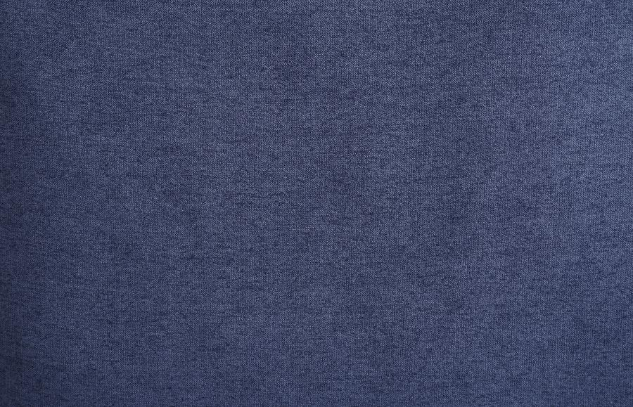 Kendrick Transitional Style Blue Chenille Fabric Casual