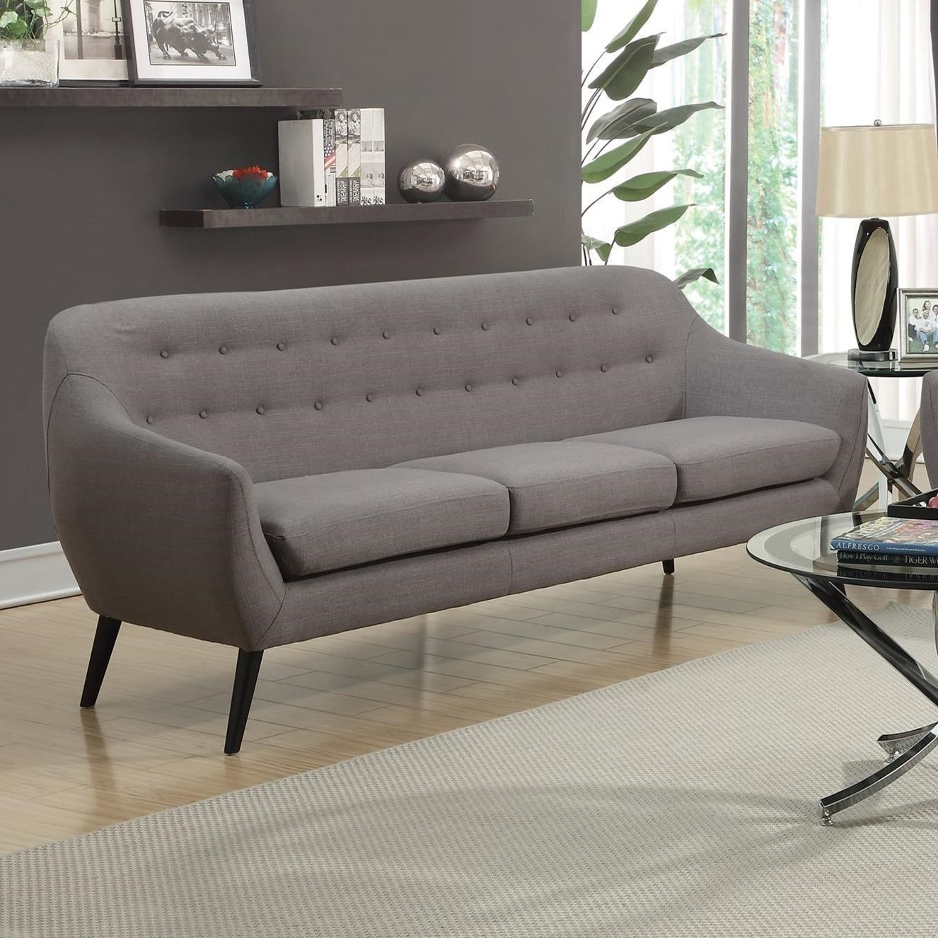 century furniture sofa quality gray sectional with nailhead trim dawson mid modern at