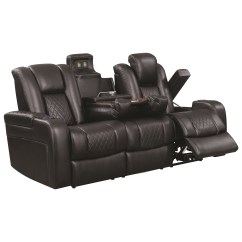 Power Sofa Recliner Mechanism High Quality Affordable Sofas Delangelo Theater Leather Reclining With Cup