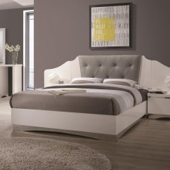 Pier 1 Sofa Quality Table Adjule Height Alessandro King Low Profile Bed With Upholstered Panel
