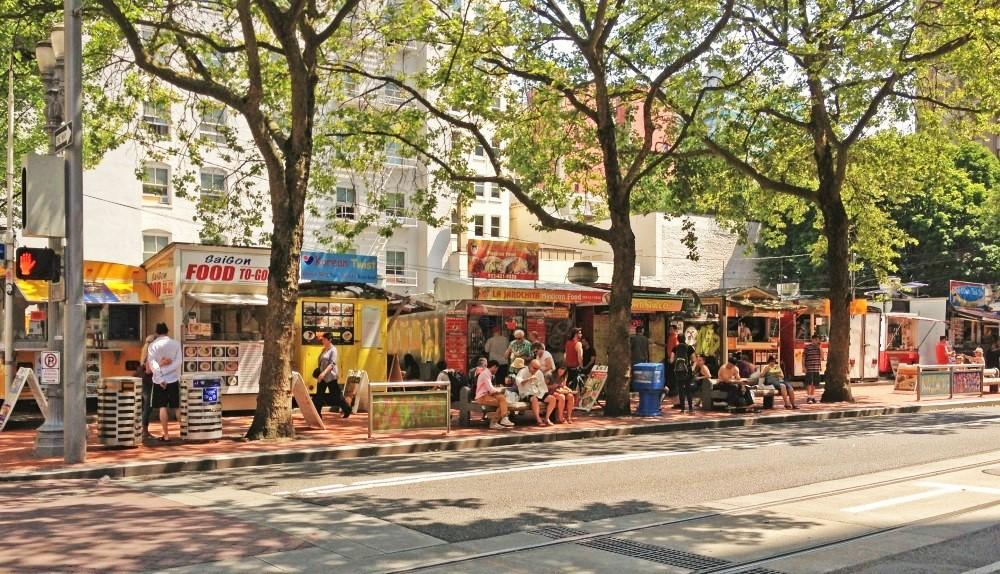 Food Carts Washington St.