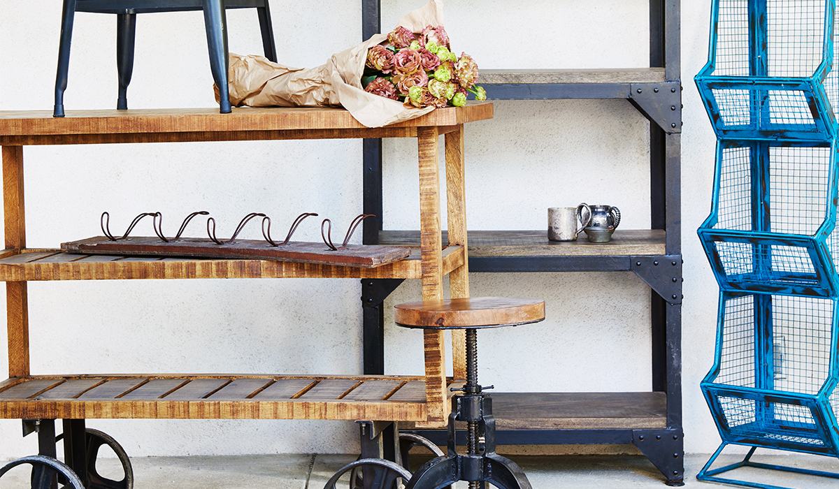 You Already Know That A Single Industrial Piece Can Make A Statement By  Itself. That Immediacy And Daring Texture Has The Power To Take Over A Room  In A ...