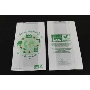 Sac papier Home Compost recto-verso