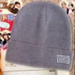 Popteen 1月号【付録】CECIL McBEE  ニット帽、防弾少年団両面ポスター