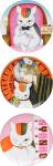 LaLa ララ 2016年 2月号【付録】ニャンコ先生 缶バッジセット