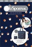 LESPORTSAC 2016 COLLECTION BOOK Style2 ポケッタブルバッグ(ビーチ ボール プレイ ネイビー)