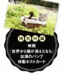 猫ぐらし 2016年 6月号【付録】映画『世界から猫が消えたなら』出演のパンプ特製ポストカード